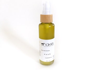 Organic Balancing Cleansing Oil. Oil Cleansing Method. All Natural. Vegan. Deep Cleansing Oil and Makeup Remover. 60ml
