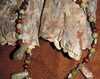 SALE Earth Elemental Ritual Necklace