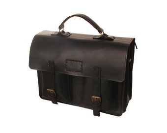 Leather Bag Large Satchel Leather Briefcase Travel Bag Messenger Bag Satchel Large Satchel