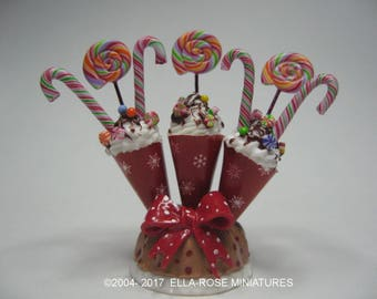12th scale handcrafted Candy Display