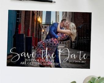 Calendar Save the Date Photo Card | Photo Postcard | Wedding Invitation | Save the Date Announcement | Calendar Save the Date | Postcard