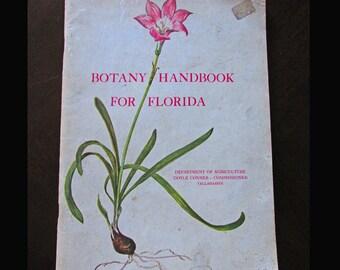 Botany Handbook for Florida January 1962 Bulletin Number 187