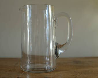 Vintage Glass Water jug - Small