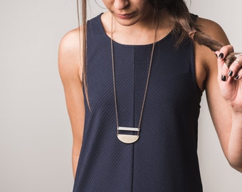 Stacked Arch Necklace