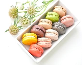 24 Assorted Regular French Macarons