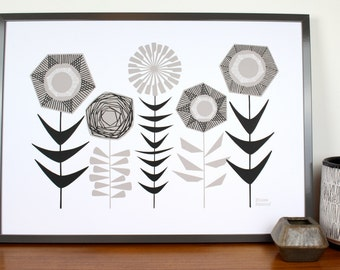 Constance, large limited edition hand-pulled screen print