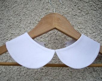 Peter Pan Collar, White Collar Necklace,Detachable collar ,White Peter Pan Collar