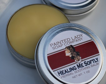 Healing Me Softly Herbal Soothing Balm for Tattoos