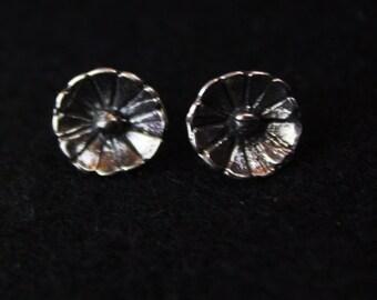Daisy - Sterling Silver Stud Earrings