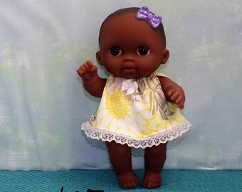 8LC1-167-168-169-170) 8 inch Lil Cutesies Berenguer baby doll clothes, 4 outfits to choose from