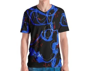 Meandering Violin Men's T-shirt