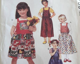 McCall's 7733, Girl's Jumper, Jumpsuit, and Romper
