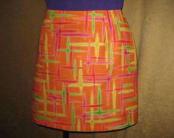 XOXO  Skirt 90s does 60s Mini - Vintage