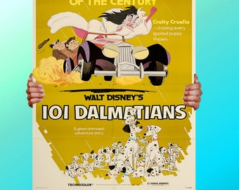 101 Dalmatians Dogs - Art Print / Poster / Cool Art - Any Size