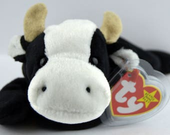 Ty Daisy the Cow Beanie Baby - Retired