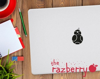 Star Wars Macbook Decal BB-8 Decal BB-8 Sticker BB-8 Macbook Decal Macbook Sticker Star Wars the Force Awakens Macbook Decal Macbook Sticker