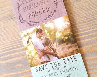 save the date bookmark, bookmark save the date, save the date, save the dates, bookmark, bookmark invitation, blush, mint, bookmark, navy