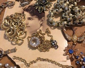 Jewelry Destash Chains Pendant Necklace Pieces