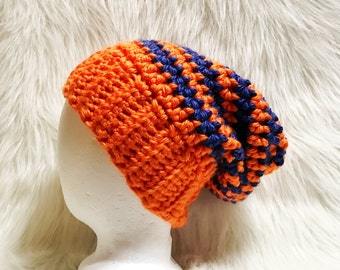 SLOUCH Hat - Winter Hat - ANY Colors - Men Women Boys Girls Children Toddlers - Crocheted Hat