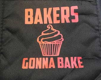 Bakers gonna Bake, Personalized Kitchen Gift, Kitchen decor, Gifts for Mom, Housewarming Hostess Gift