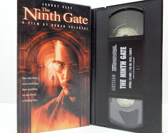 The ninth Gate VHS Tape