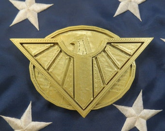 """Wonder Woman DC Bombshell Belt """"Buckle"""" Accessory 3D Print for Cosplay & Costume"""