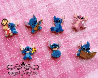 Disneys Lilo and Stitch Floating Charms - Lilo and Stitch Memory Charms - Lilo and Stitch Memory Locket Charms