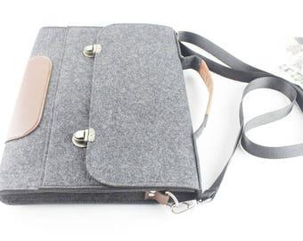 Felt Lenovo Yoga case, Dell laptop case, 2017 New Macbook Pro 15 case, 2017 New Macbook Pro 13 case, Touch bar, Laptop case Macbook case 114