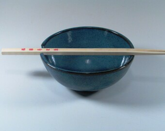 Reserved listing - Ceramic Noodle Bowl - set of six (1 purchased prior)