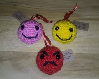 Emoji and Owl stuffed Toys or Ornaments
