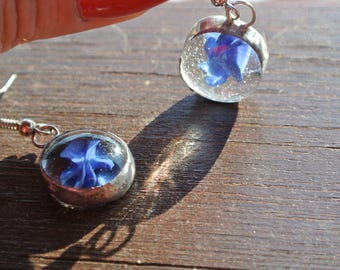 Stained glass jewellery / stained glass earring