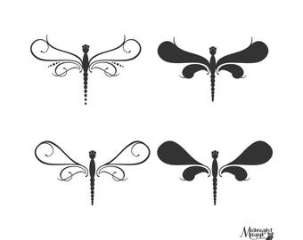 Delicate Dragonfly Set