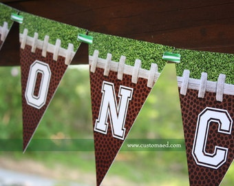 FOOTBALL CONCESSIONS BANNER - Birthday - Football Party - Super Bowl Party - Couples Shower