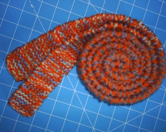 Knit Belt or Skinny Scarf / Handknits / Belt / Skinny Scarf / Scarf / Handknit Scarf /   Knitted Scarf / Knitted