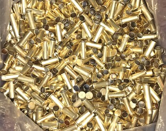 22 Rimfire Brass Empty Shell Casings for Craft or Art Creation - Choice of 15, 30, 50, 100, or 200 Piece Sets