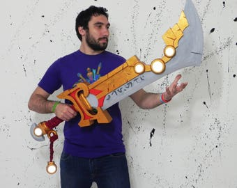 Crest of the Redeemed Ashbringer World of Warcraft cosplay prop