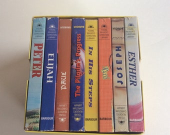 Vintage Book Set, Young Reader's Christian Library