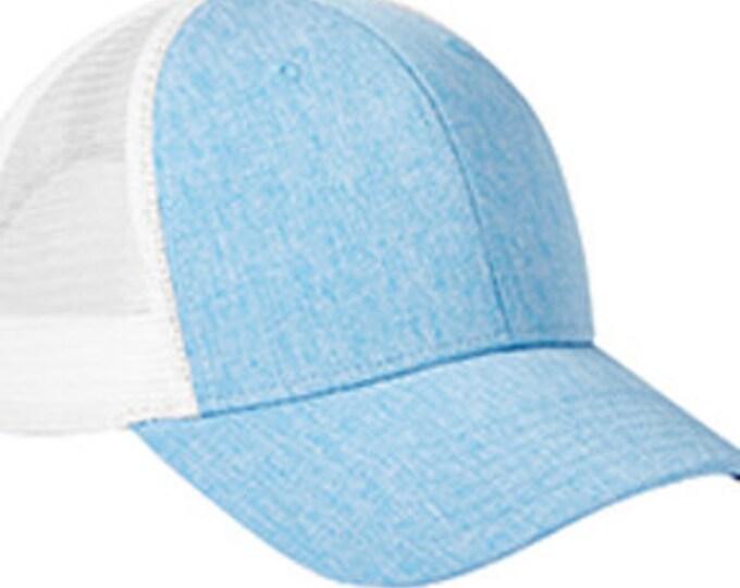 Monogrammed  Heathered Trucker Hats