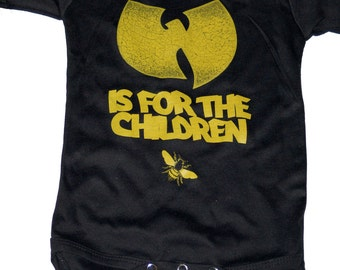 Wu-tang is for the children onesie (wutang)