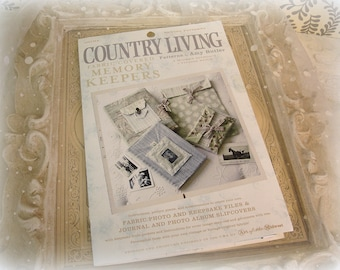 amy butler fabric covered memory keepers pattern country living pattern by amy butler like new unUsed