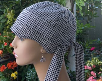 Chemo Hats Hair Loss Soft Cancer Cap Cotton Hat Made in the USA Reversible Small/Medium