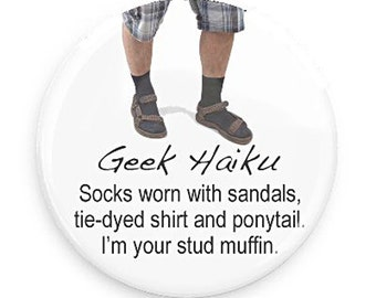 Geek Gift Magnet, Funny Gift, Funny Fridge Magnet for your StudMuffin,  Geek Haiku