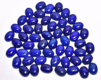 52 Pieces Lot, Natural Lapis Lazuli Loose Gemstone, AAA Grade Lapis Lazuli, High Polished, Big Lot, Lapis Lazuli Gemstones, 16x12x5 mm
