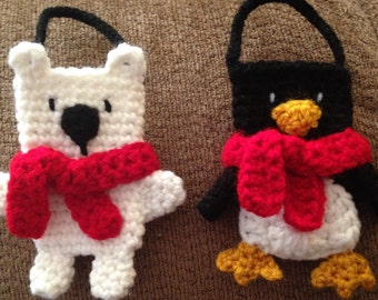 Christmas Gift Card Holders/Ornaments 2 - Crochet Pattern