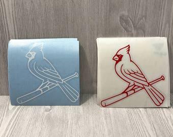 St. Louis Cardinals Vinyl Decals/St. Louis Cardinals Yeti Decals/St. Louis Cardinals Decals