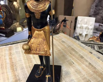 Amazing Unique Hand Made Egyptian King Tut  Statue