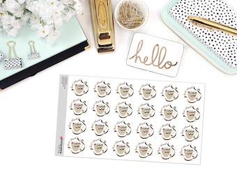 SWEET MOMENTS Paper Planner Stickers