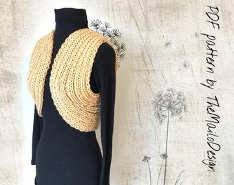 Knitting Pattern / Bolero Pattern / Bolero Shrug Pattern / Knitting Bolero Pattern / Pdf pattern