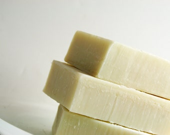 Soap - French White Clay Soap - Facial Soap, Natural Skin Care