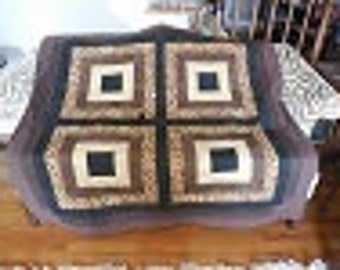 MASCULINE CONTEMPORARY quilt
